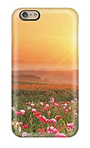Protective Tpu Case With Fashion Design For Iphone 6 (sunset Field) DHNYI9ZP3514LI62