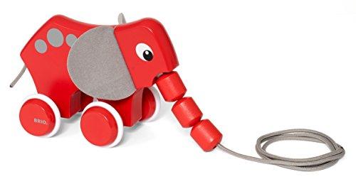 BRIO Infant & Toddler - Pull Along Elephant