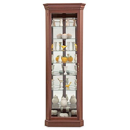 Philip Reinisch Lighthouse Octave III Corner Curio Cabinet