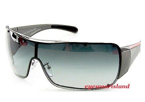 25a2d5bcc8c6 New Authentic Prada Sport Sps-51G Sps51G 1Bc-5D1 Sunglasses Gradient ...