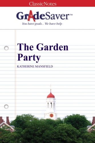 the garden party summary shmoop