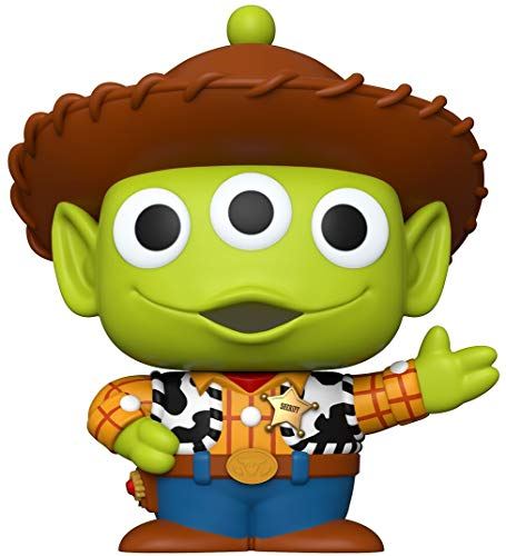 Funko- Pop Disney Pixar Alien Remix 10  Woody Juguete Coleccionable, Multicolor (48344)