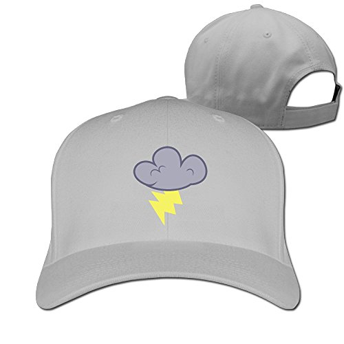 Toned Down Halloween Costumes (Thunder Cloud Unisex Two-toned Football Hat & Cap Ash)