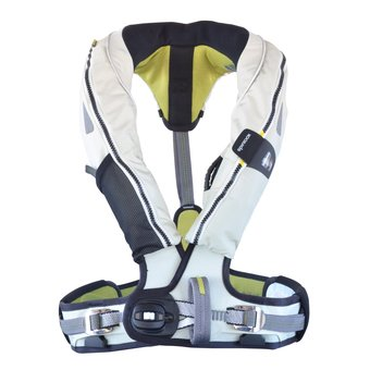 Spinlock Deckvest 5D 170N Pro Sensor Lifejacket(デッキベスト 5D Pro (水感知タイプ) 170N ライフジャケット) DW-LJHD5 B00O3288T6 3|Tropical White Tropical White 3