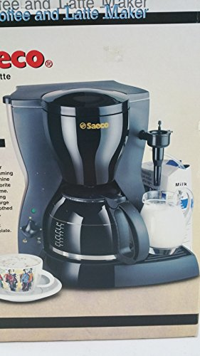 Saeco Black Coffee and Latte Maker 1150W (Saeco Black Coffee Maker)