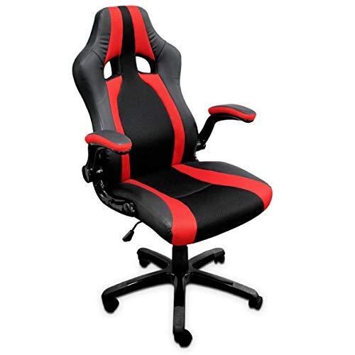 TRITON R9 Silla Gaming Chair ergonomica, Piel sintetica, M