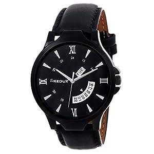 Redux RWS0106S Analogue Black Smart Dial Men's & Boy's Watch