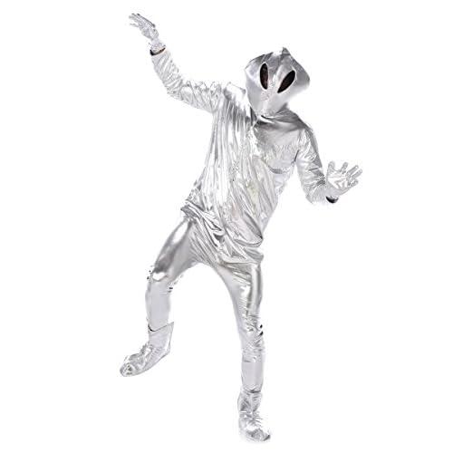 Générique Déguisement alien homme Taille M