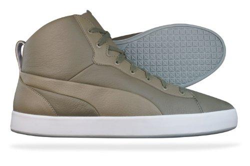 Puma - Zapatillas de cuero para hombre Verde