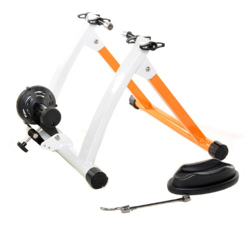 Conquer Indoor Bike Trainer Portable Exercise Bicycle Magnetic Stand (Bicycle Roller)
