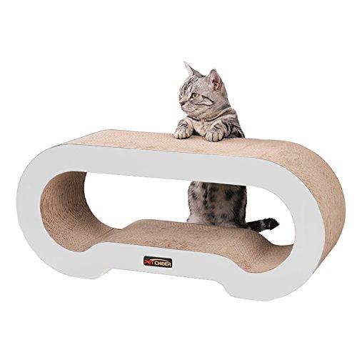 PetCheer MJ067W Jumbo Cat Scratcher Lounge Sofa with Catnip For Sale