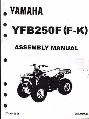 1994 YAMAHA ATV 4 WHEELER YFB250F (F-K) ASSEMBLY SERVICE, used for sale  Delivered anywhere in USA