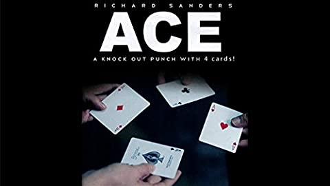 ACE (Cards and Online Instructions) by Richard Sanders - Trick (Richard Sanders Ace)