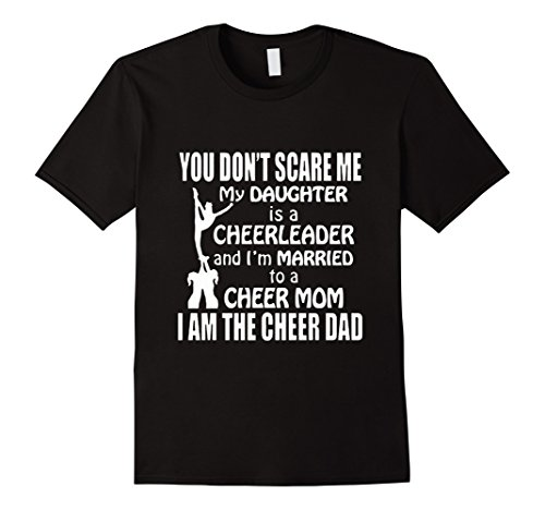Men's I am the cheer Dad T-shirt For Daddy XL Black - Cheer Dad Shirts