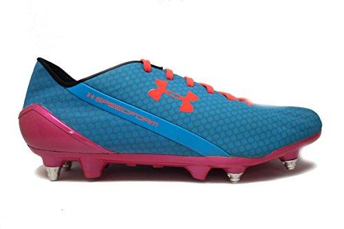 Under Armour Speedform CRM Hybrid Men's Soccer Cleats (13, Blue/Pink/Orange) ()