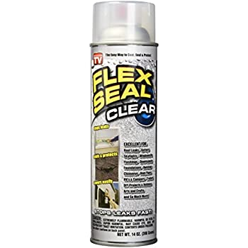 Spray Rubber Seal >> Flex Seal Spray Rubber Sealant Coating 14 Oz Clear 2 Pack