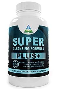 Super Cleansing Formula Plus - Powerful Colon Cleanse Supplement