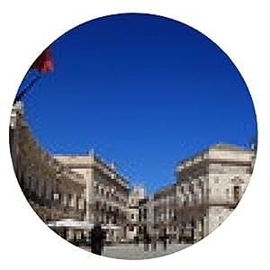 alfombrilla de ratón Siracusa - Plaza de la Catedral - la isla de Ortigia - ronda - 20cm