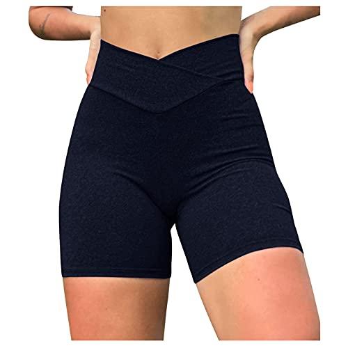 QiFei Onderbroek fietsbroek boxershorts dames hoge tailleband katoen shorts lange ondergoed dames tights shorts sport…