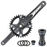 Samox Mountain Bike Bicycle Single Narrow Wide Crankset 4ARM 175mm 32T 9-11S