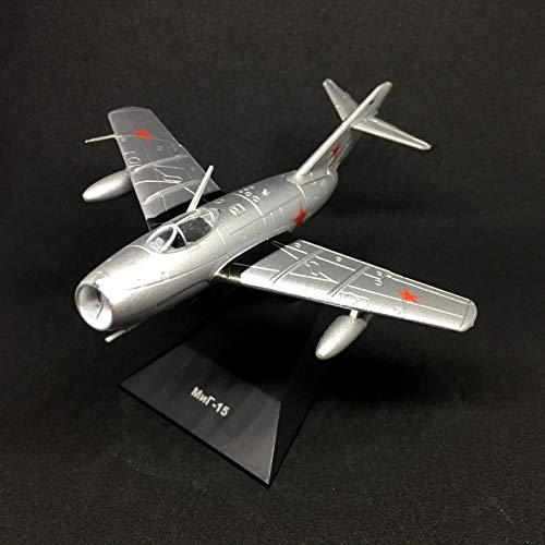 Mikoyan-Gurevich MiG-15 Type 14 Fagot Fighter Aircraft 1949 Year 1/93 Scale Soviet Union USSR Aircraft Collection Model with Stand (15 Fighter Mig)