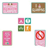 These wall decorations are just the party supplies you need to lead the way to an unforgettable camping party.