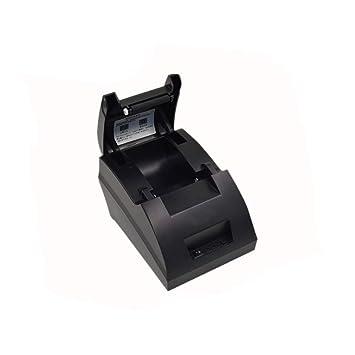 RORJH Impresora Térmica, Impresoras USB 58Mm Entradas, De Comidas ...