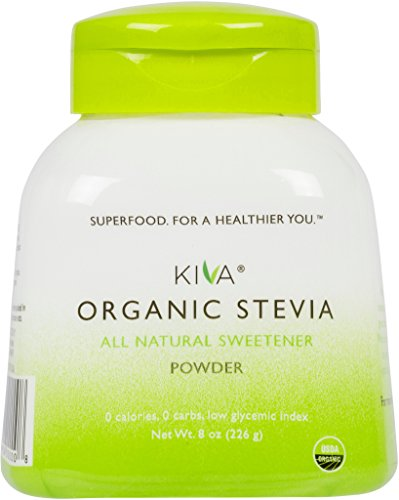 10. Kiva – Organic Stevia Powder