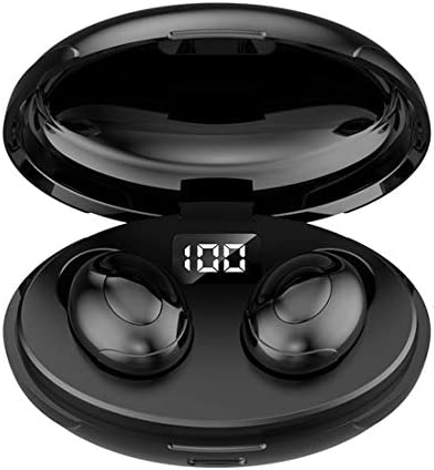 True Wireless Earbuds Bluetooth 5.0 in-Ear Headphones with Charging Box, subwoofer with TWS Stereo Headphones, Water-Proof,Clear Calls, Suitable for Trip&Sports