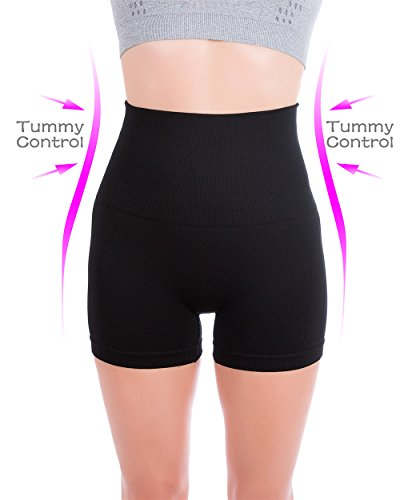 UPC 638455023048, Homma Women's Tummy Control Fitness Workout Running Yoga Shorts (Small, Black 2)