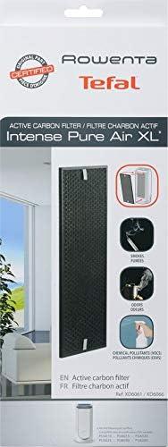 Rowenta Filtro Carbón Activo XXL XD6061ES - Recambio de Carbón Activo para Purificador Rowenta Air Intense PU6020, Filtro para Partículas Grandes, Reduce el Olor: Amazon.es: Hogar