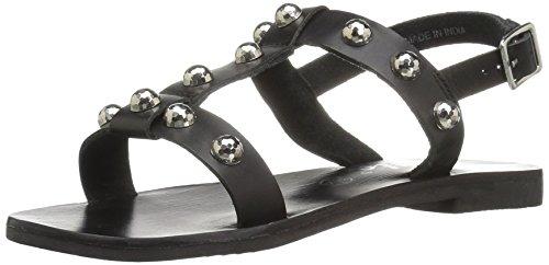 Callisto Kvinners Bristol Kjole Sandal Sort