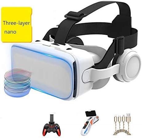 バーチャルリアリティのメガネ 3Dメガネ ヘッドマウントメガネ 視聴覚機器 に適しています 3.5-6.0インチ IOS/Android 携帯電話。,Package7