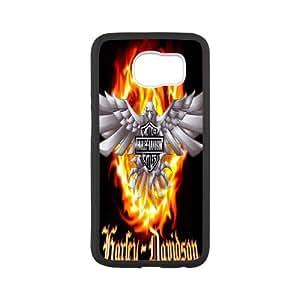 Samsung Galaxy S6 Cell Phone Case White Harley Davidson Phone Case Cover DIY Back XPDSUNTR30338