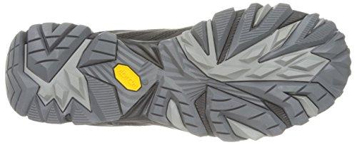 Hommes Merrell Trekking & Chaussures Moab Fst Randonnée À Moitié Noire (noire)