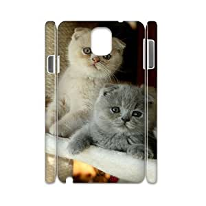 FLYBAI Scottish Fold Cat Phone 3D Case For Samsung Galaxy note 3 N9000 [Pattern-5]