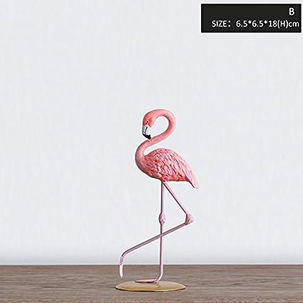 Amazoncom Miz 1 Piece Pink Flamingo Home Decoration Ornament Art