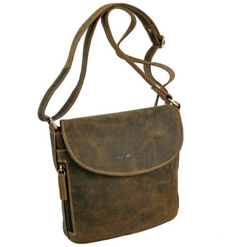 Leather Bag Sattelbraun Greenburry 20 Greenburry Shoulder Vintage cm Vintage qgqzX