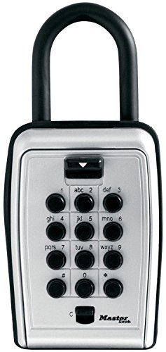 Master Lock 5422D Push Button Portable Key Safe