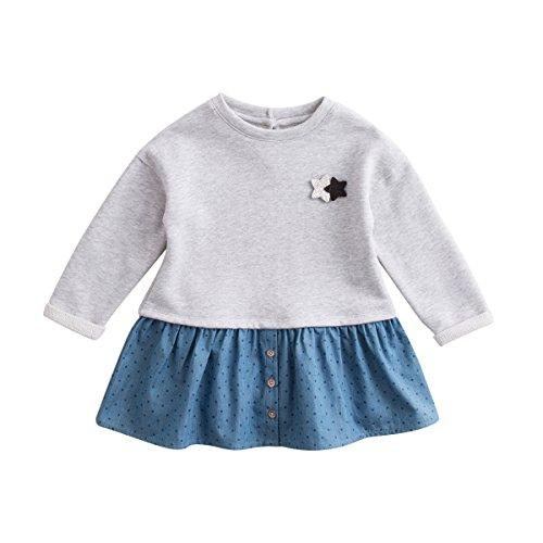 next baby denim dress - 4