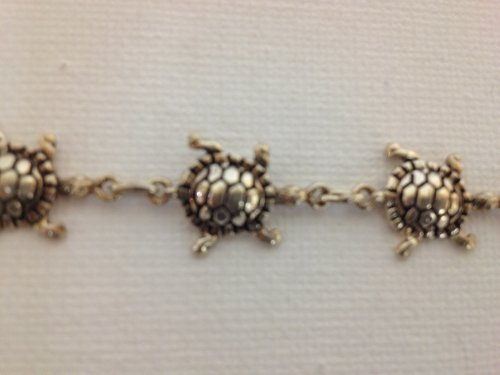 Bracelet à Charms-Argent 925/1000 tortue
