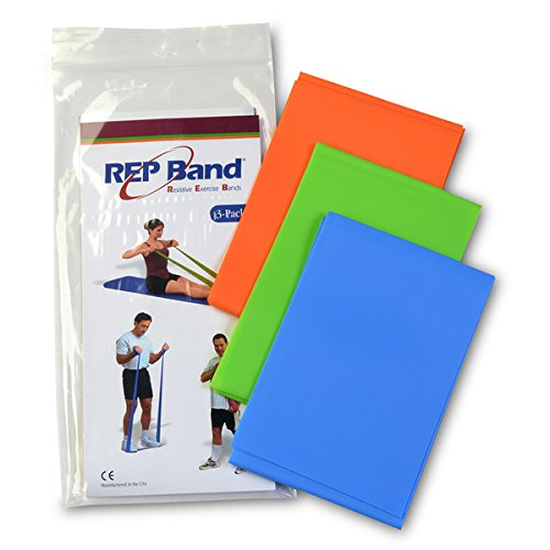 Rep Band Latex Free Exercise - Magister Resistive Exercise - Rep Band Latex-Free MEDIUM RESISTANCE PACK (INCLUDES LEVELS 2,3,4)