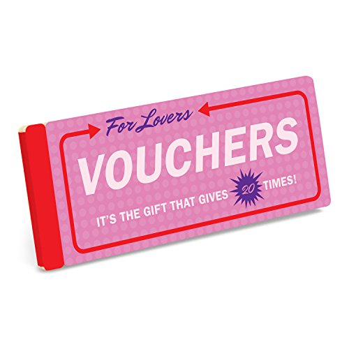 Knock Knock Vouchers for Lovers - Coupon Booklet