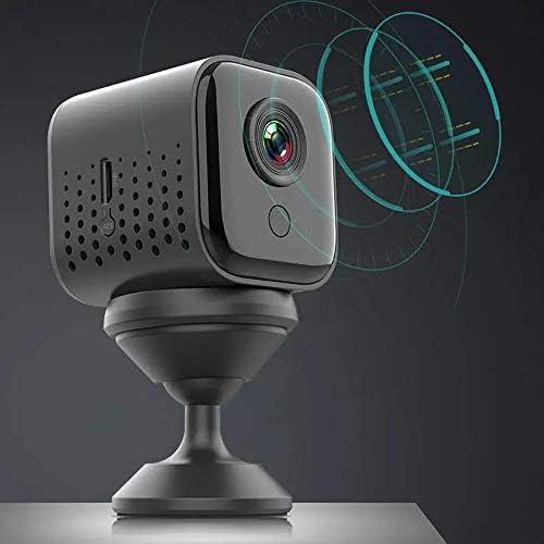 アクションカメラ スポーツカメラ1080pの高精細レンズ360度任意のインストール二つの記憶モードワイヤレスカメラ 高画質アクションカメラ (Color : Black, Size : One size)