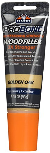 - ELMERS 3-1/4 Oz Gold Oak Probond Wood Filler (E814Q)