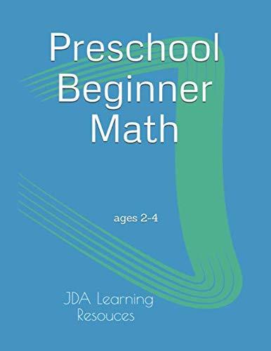 Preschool Beginner Math: for 2-4 year olds