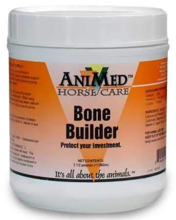 AniMed Bone Builder Supplement for Horses, 2.5-Pound