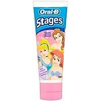 Oral-B Stages Pasta Dental Para Niños Con Diseño