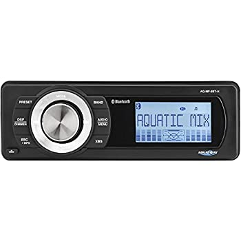 Image of Car Stereo Receivers Aquatic AV Bluetooth Stereo AQ-MP-5BT-H