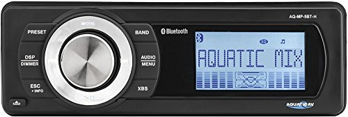 Aquatic AV AQ-MP-5BT-H Factory Harley Davidson Replacement AM FM Radio with Bluetooth MP3 Media Player Stereo